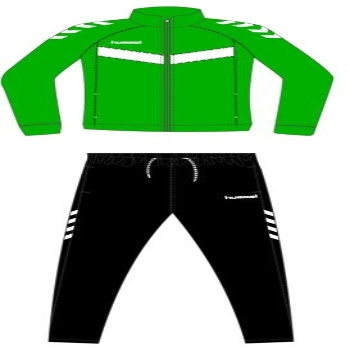 XANDALL HUMMEL ESSENTIAL VICTORY POLY SUIT VERD
